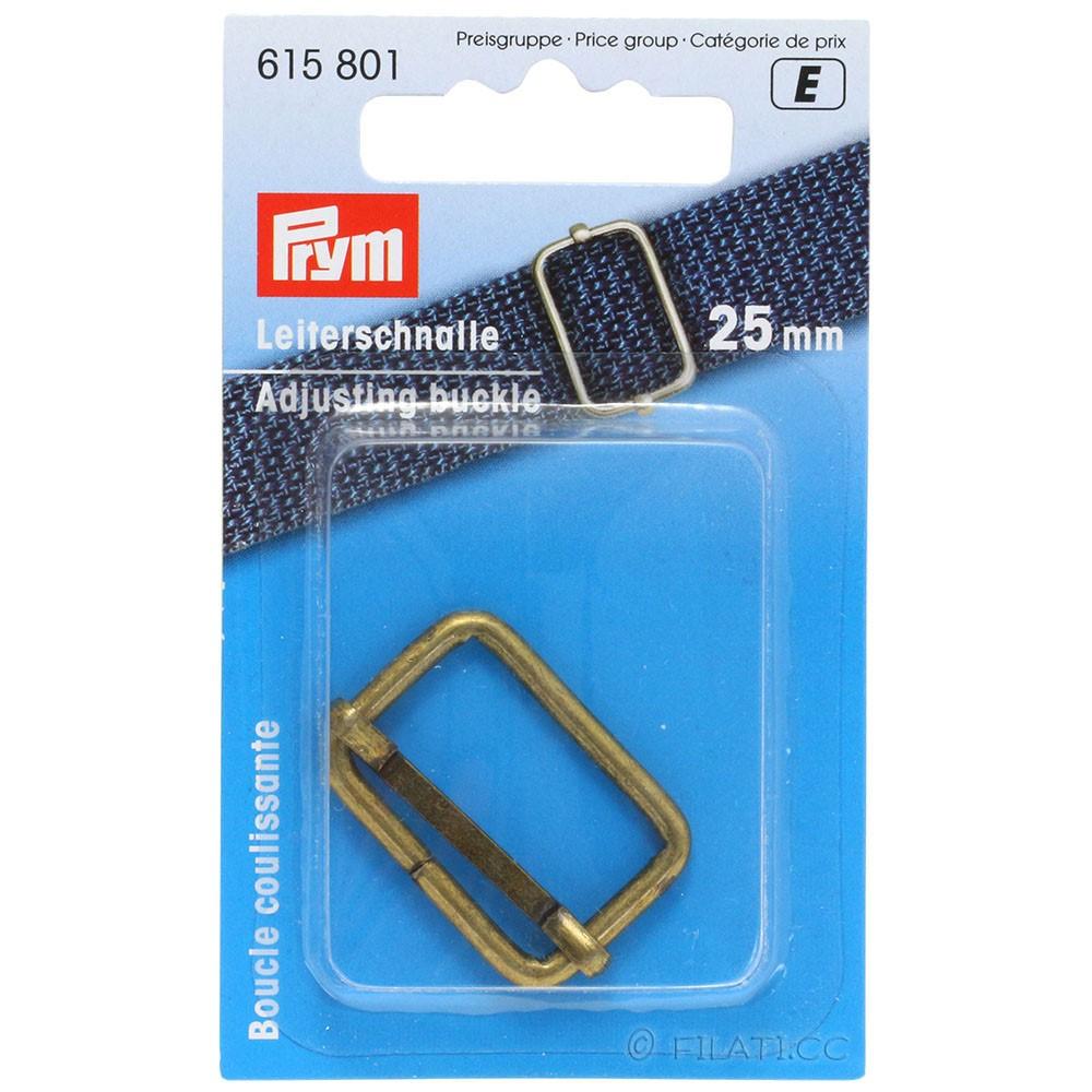 Regulatore fibbia 615801/25mm | 801-ottone antico