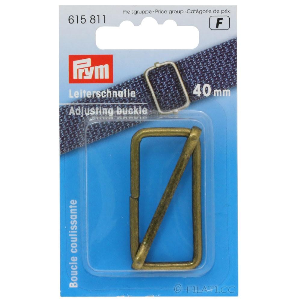 Regulatore fibbia 615811/40mm   01-ottone antico
