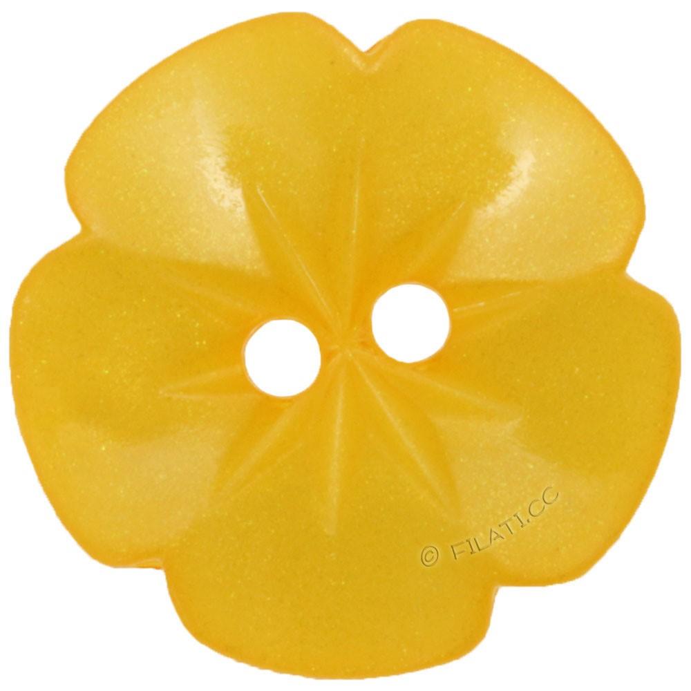 UNION KNOPF 26533/15mm | 38-arancio giallo