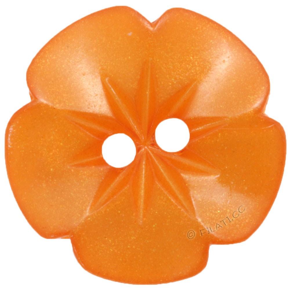 UNION KNOPF 26533/15mm | 42-arancio