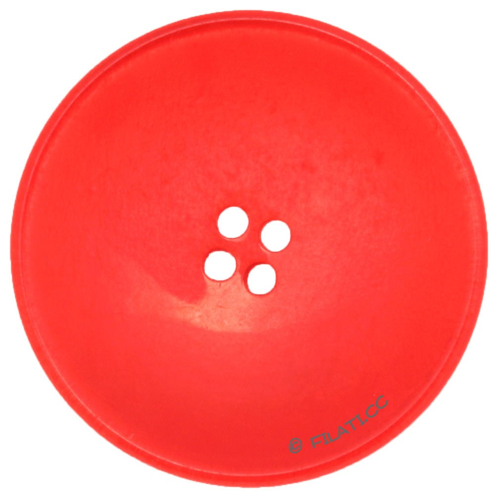 UNION KNOPF 450229/28mm   48-rosso