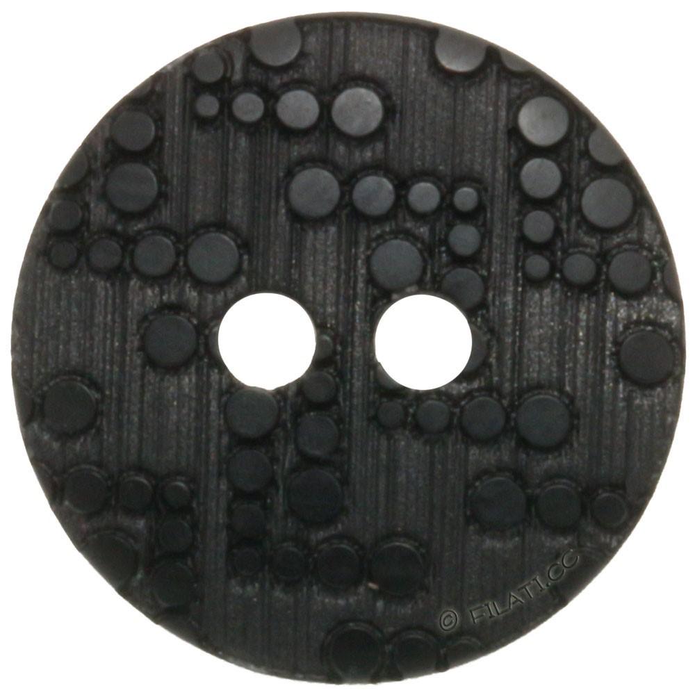 UNION KNOPF 451295/15mm   80-nero