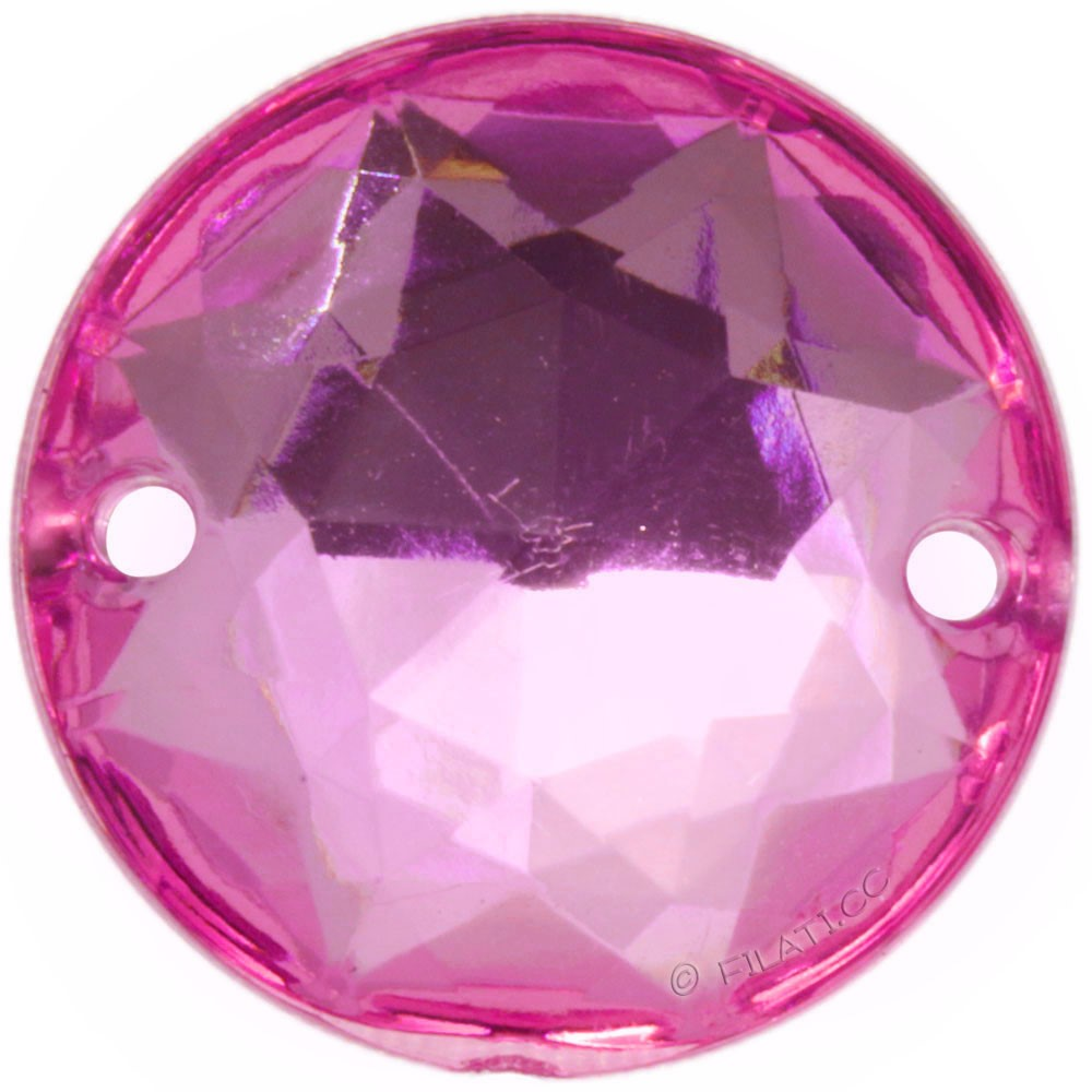 Pietra decorativa 451701/25mm | 52-rosa vivo