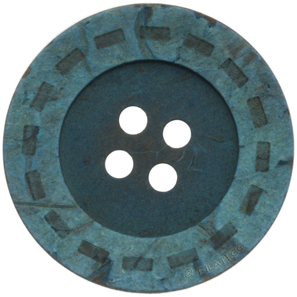 UNION KNOPF 451976/25mm | 32-turchese