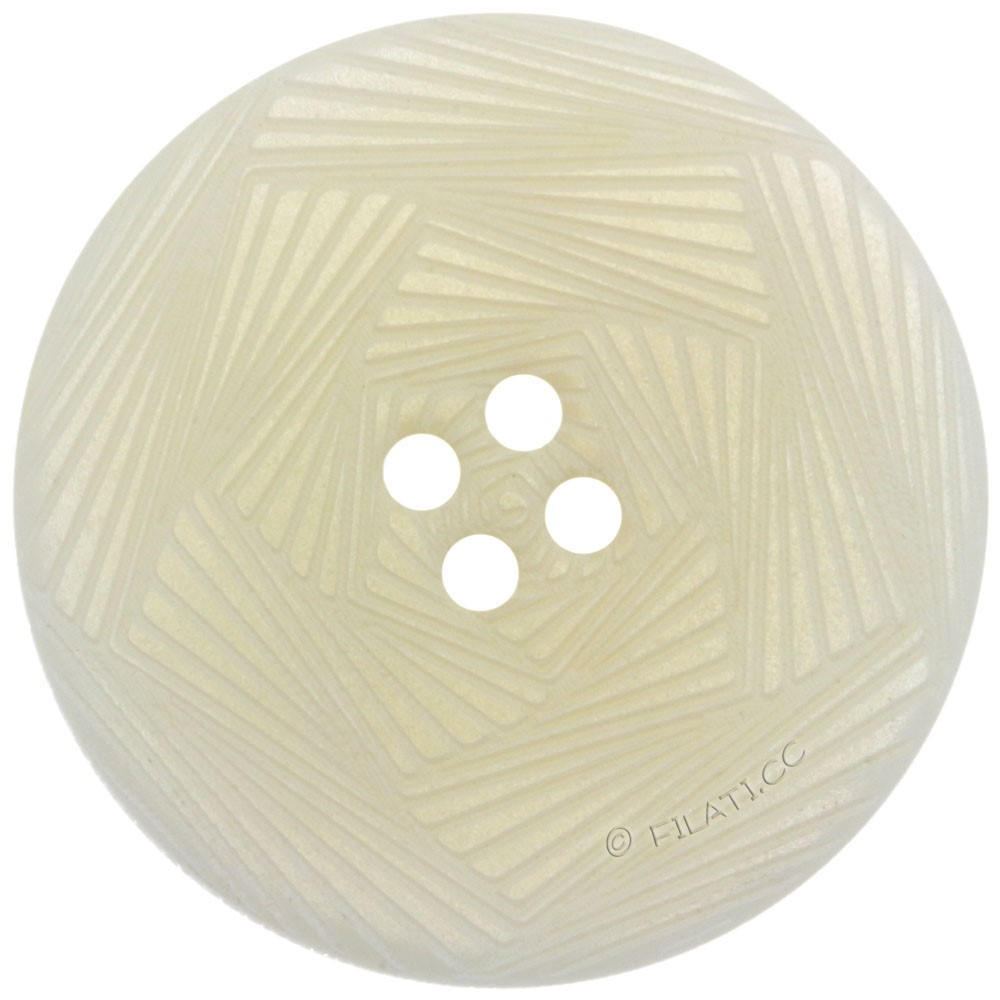 UNION KNOPF 452270/28mm   12-bianco