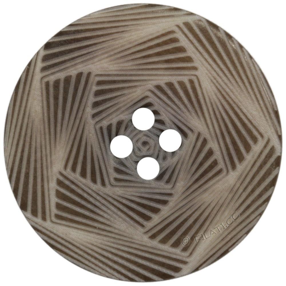 UNION KNOPF 452270/28mm   22-marrone