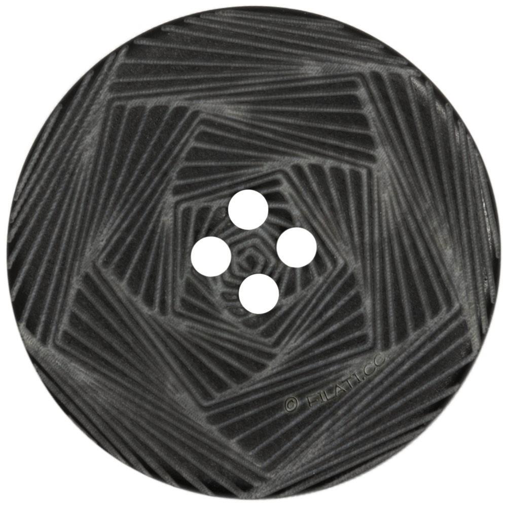 UNION KNOPF 452270/28mm   80-nero