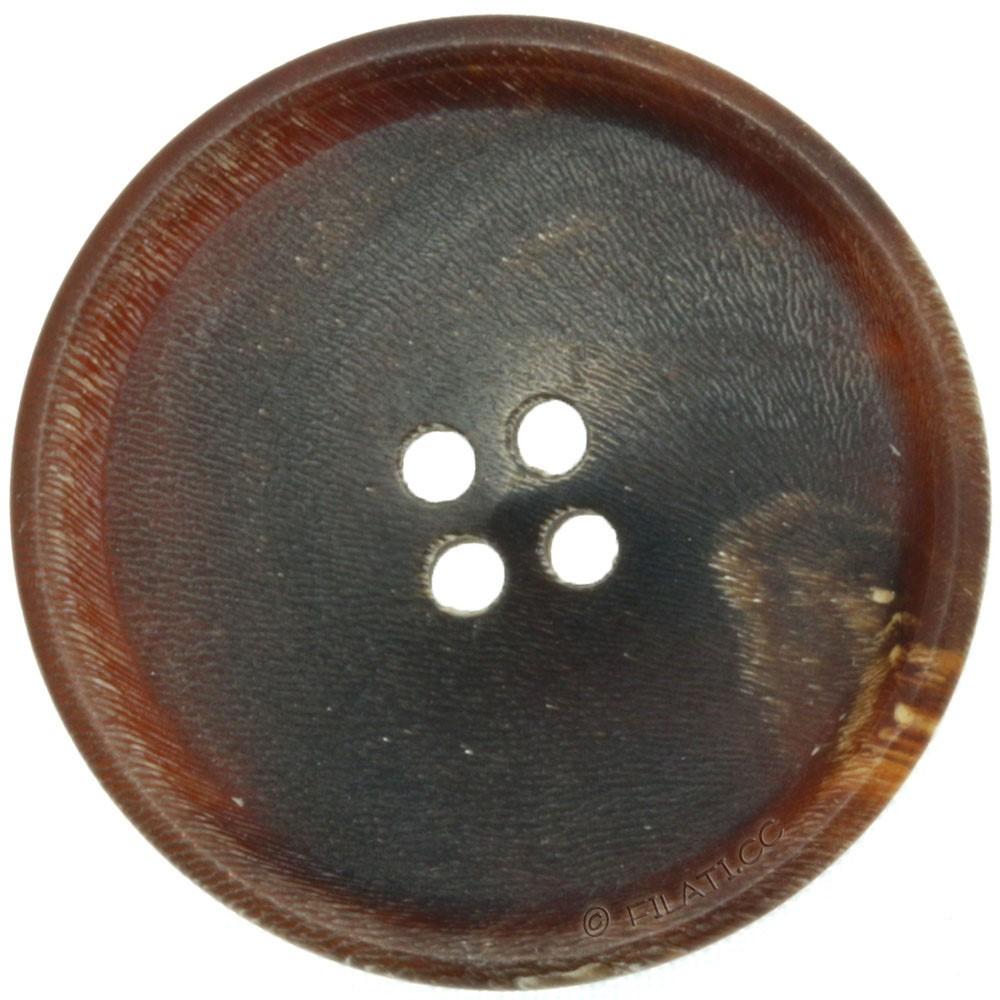 UNION KNOPF 47685/28mm   22-marrone scuro