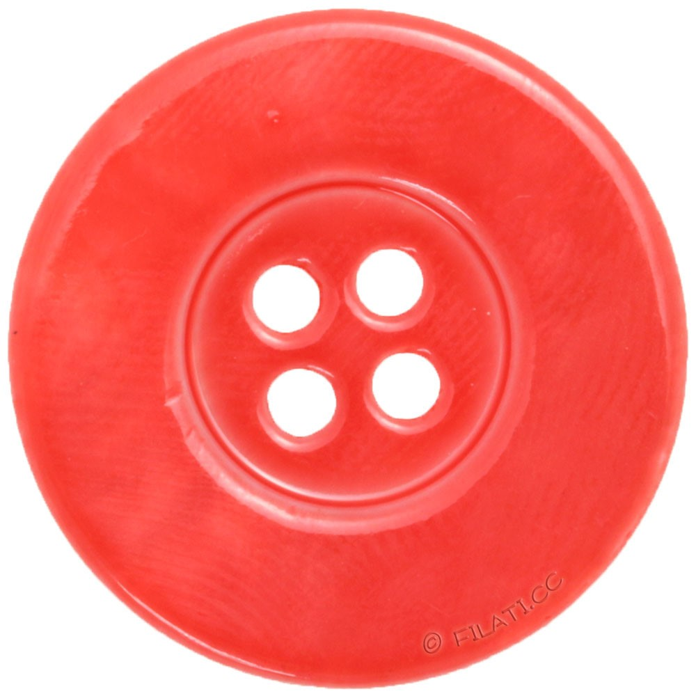 UNION KNOPF 49706/23mm | 48-rosso
