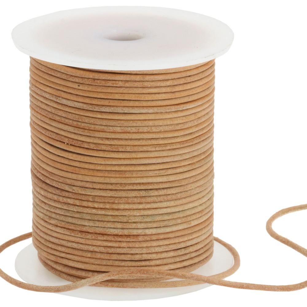 Nastro tondo in pelle 1233/105cm | 16-beige