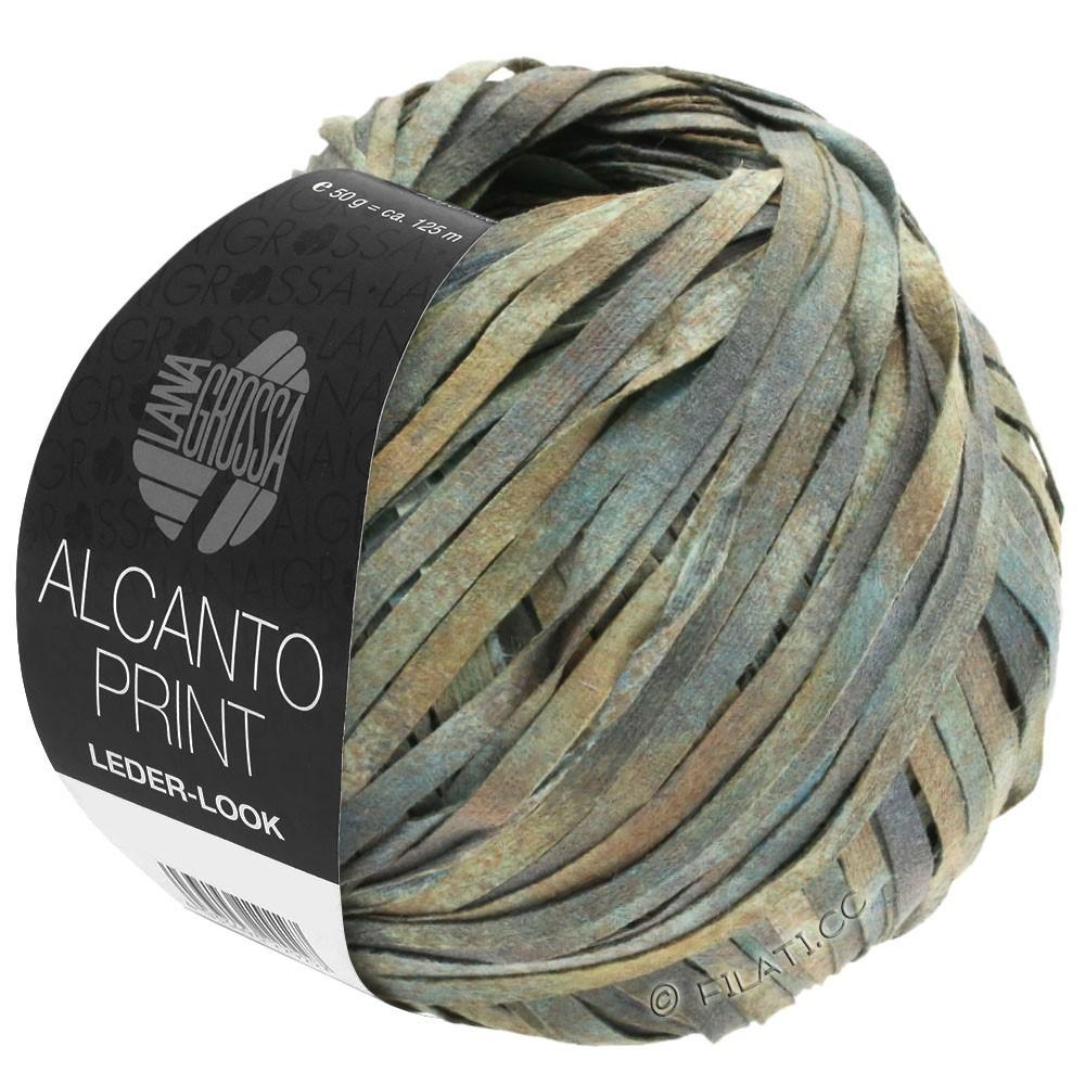 Lana Grossa ALCANTO Print | 102-grigio/beige