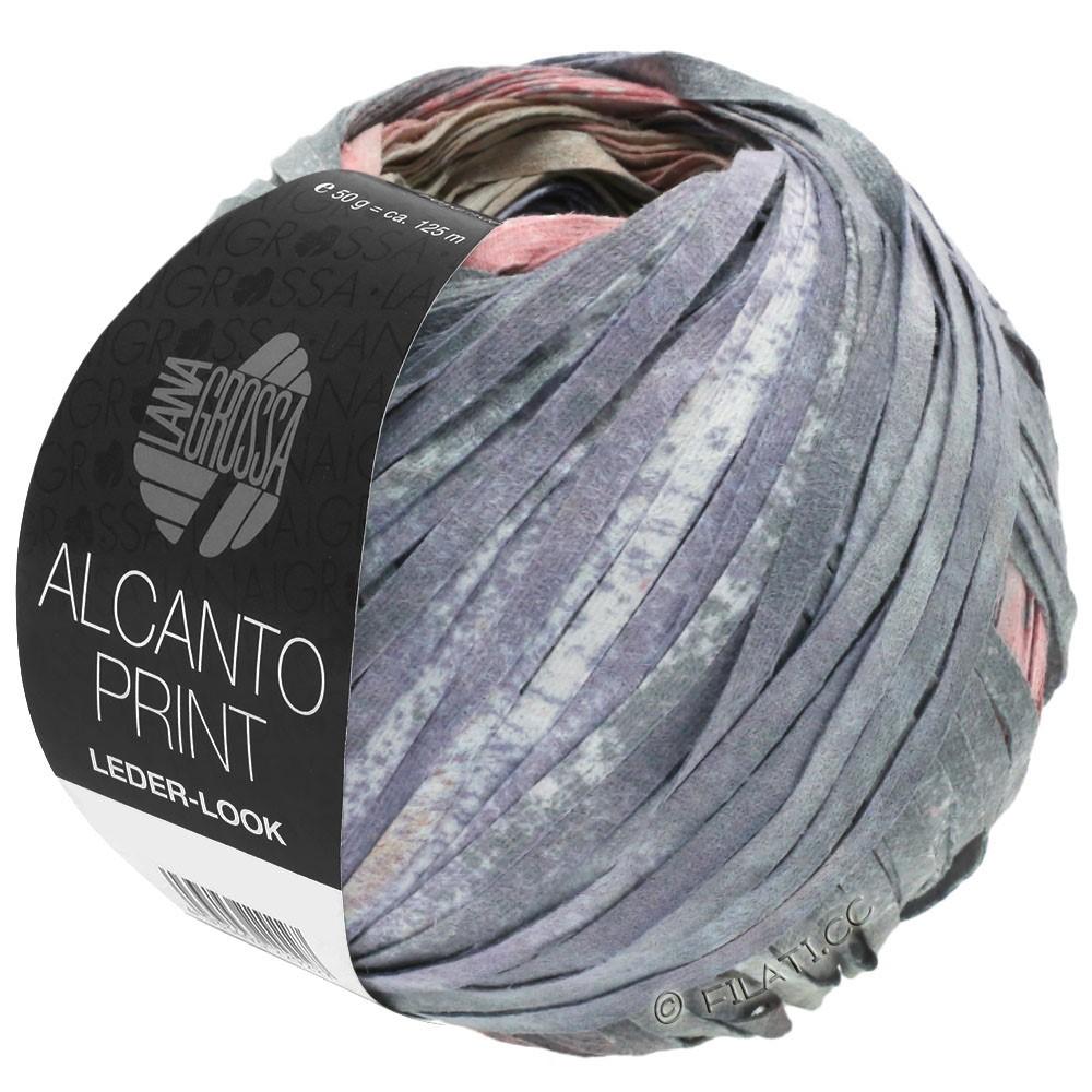 Lana Grossa ALCANTO Print | 205-natura/beige/grigio/rosa antico