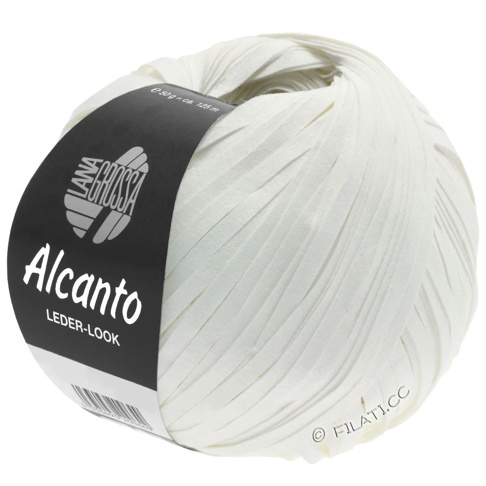 Lana Grossa ALCANTO   12-bianco