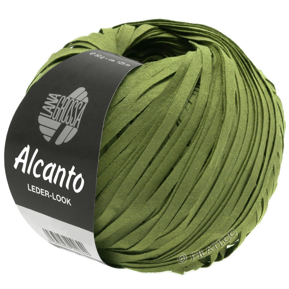 Lana Grossa ALCANTO   17-verde oliva