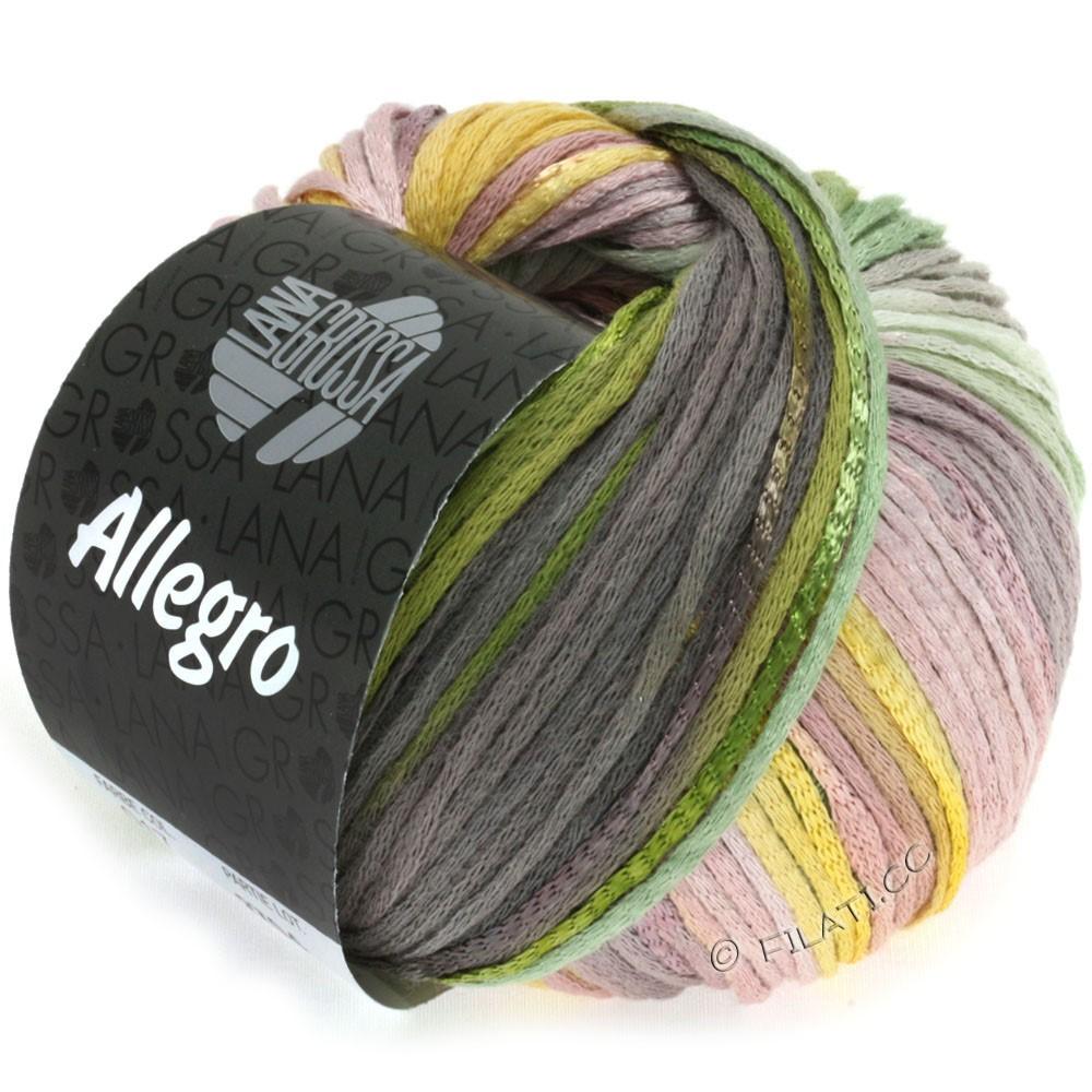 Lana Grossa ALLEGRO   017-giallo/verde/moca/palissandro
