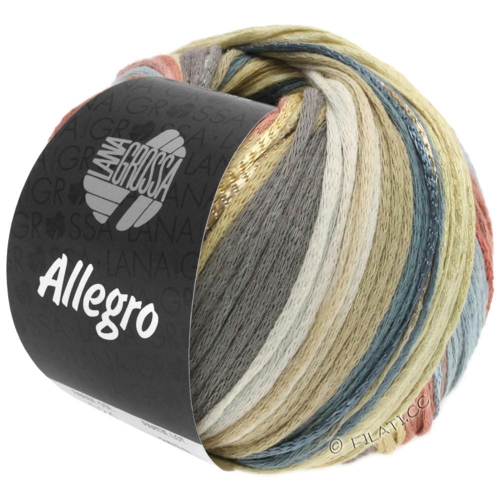 Lana Grossa ALLEGRO   029-vaniglia/natura/grigio scuro/palissandro/beige