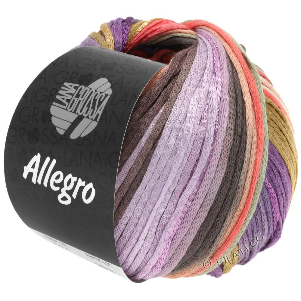 Lana Grossa ALLEGRO   030-viola/salmone/beige/natura/lilla/taupe/grigio chiaro