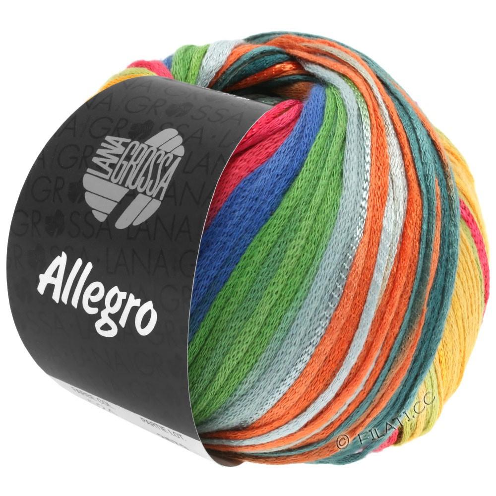Lana Grossa ALLEGRO   032-ruggine/giallo miele/ottanio/verde/grigio chiaro/grigio marrone/blu