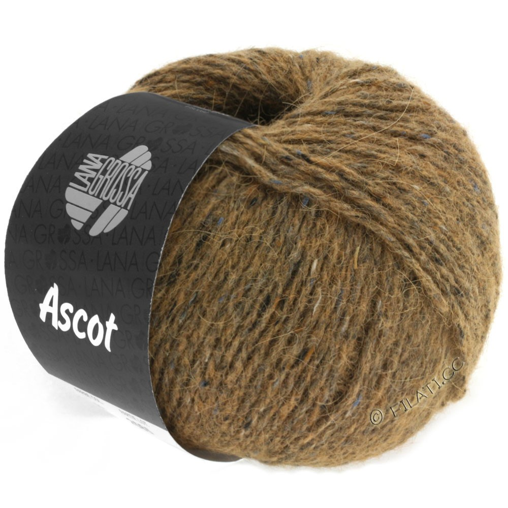 Lana Grossa ASCOT | 08-marrone puntinato
