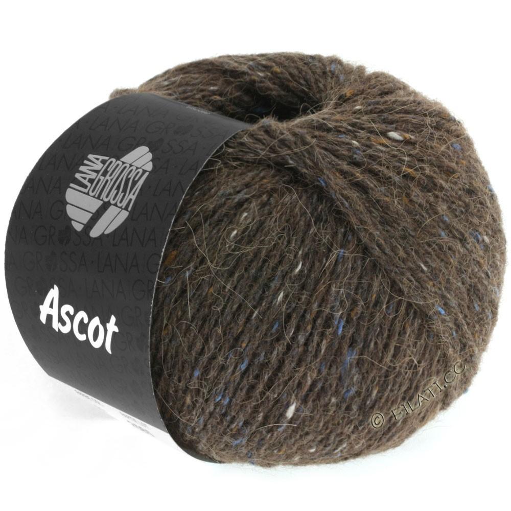 Lana Grossa ASCOT | 09-marrone scuro puntinato