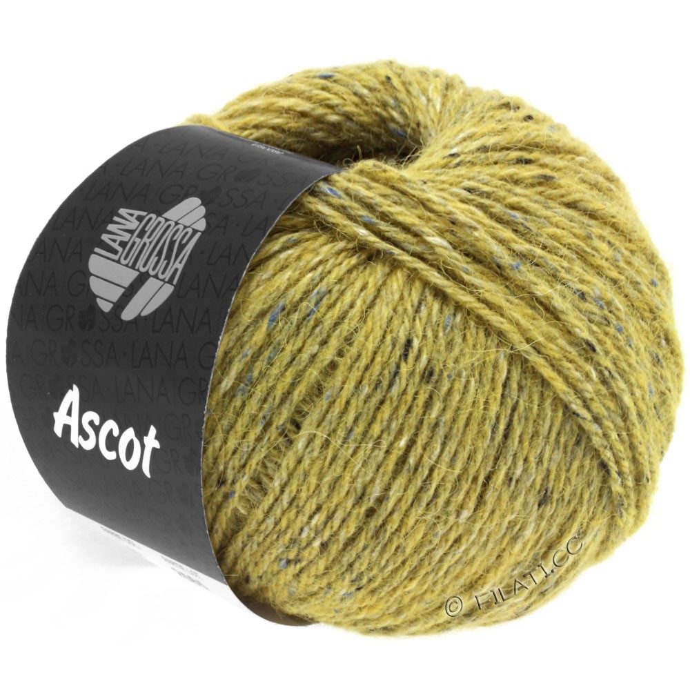 Lana Grossa ASCOT | 20-giallo senape puntinato