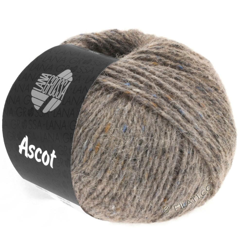 Lana Grossa ASCOT | 23-grigio marrone puntinato