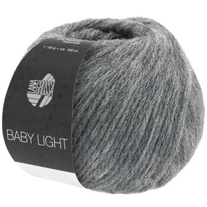 Lana Grossa BABY LIGHT | 13-grigio scuro