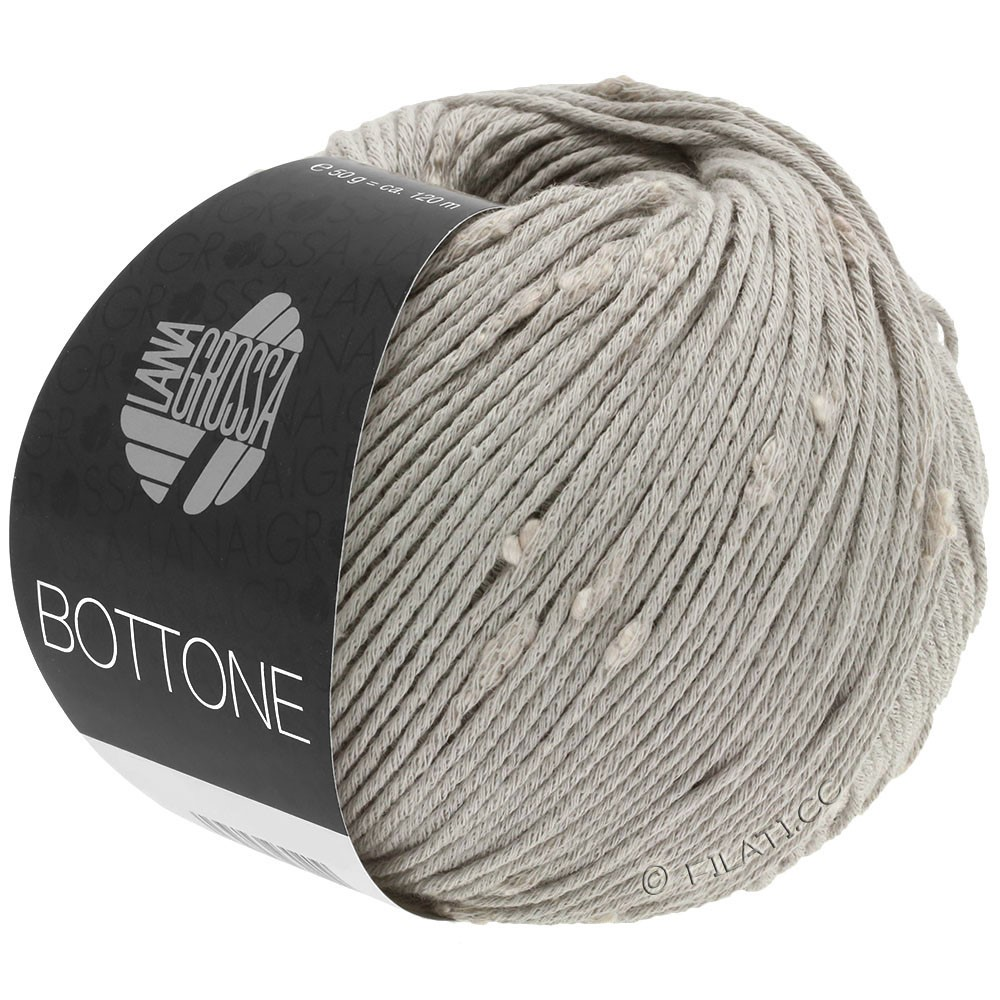 Lana Grossa BOTTONE | 02-grigio chiaro