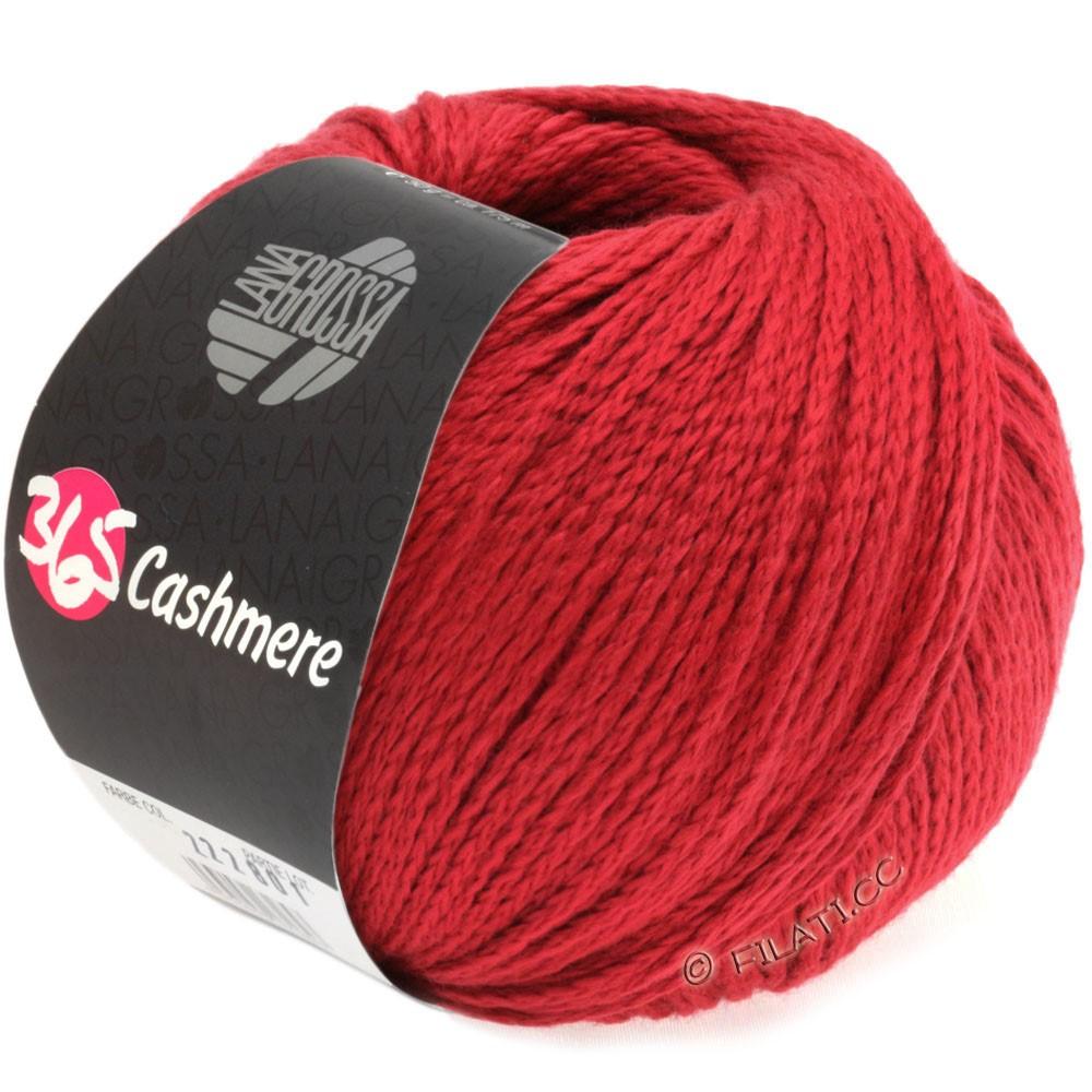 Lana Grossa 365 CASHMERE | 07-rosso rubino