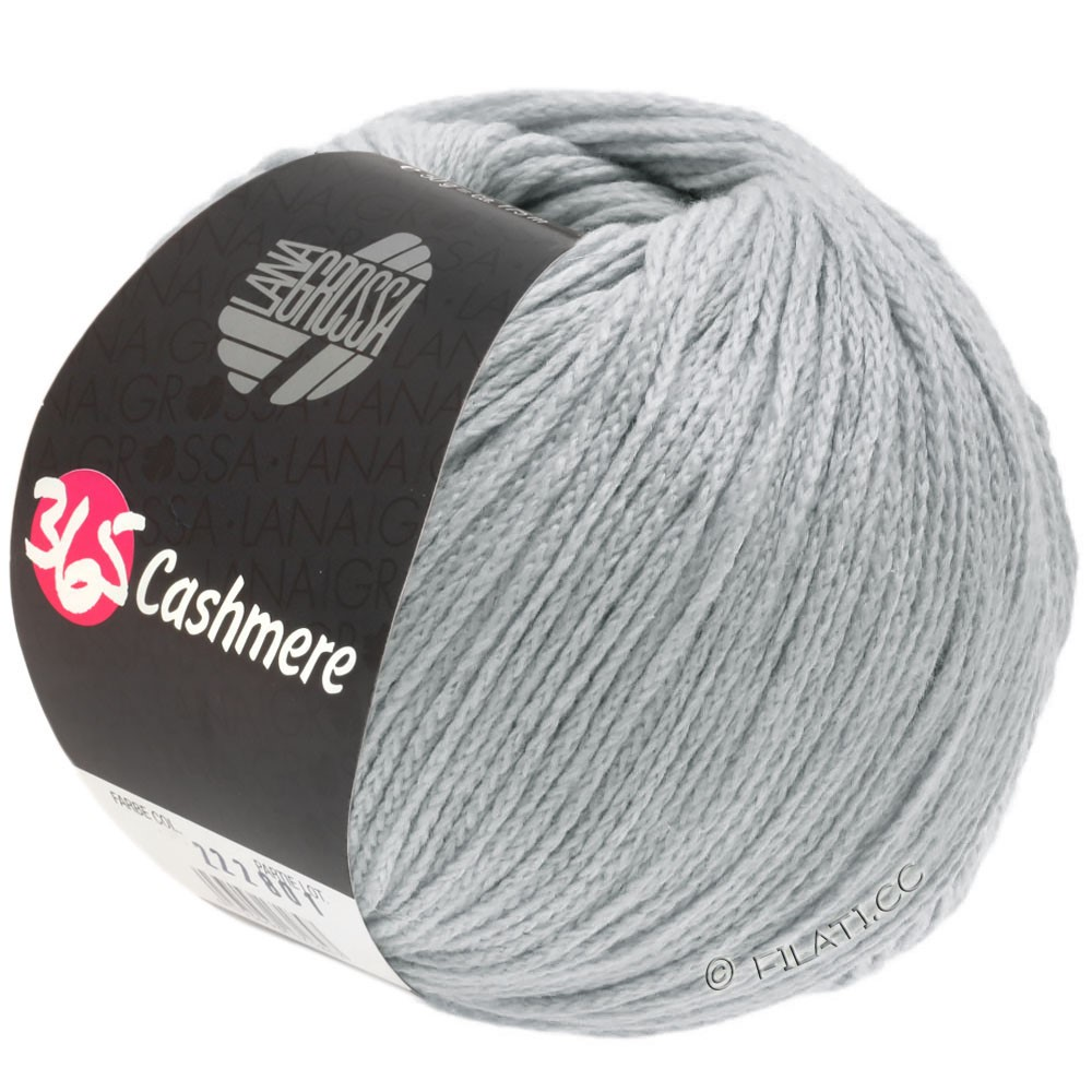 Lana Grossa 365 CASHMERE | 35-grigio chiaro