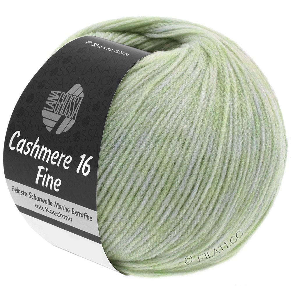 Lana Grossa CASHMERE 16 FINE Uni/Degradé | 002-verde pallido