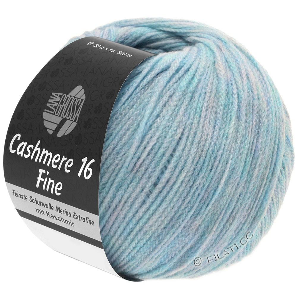 Lana Grossa CASHMERE 16 FINE Uni/Degradé | 003-blu chiaro