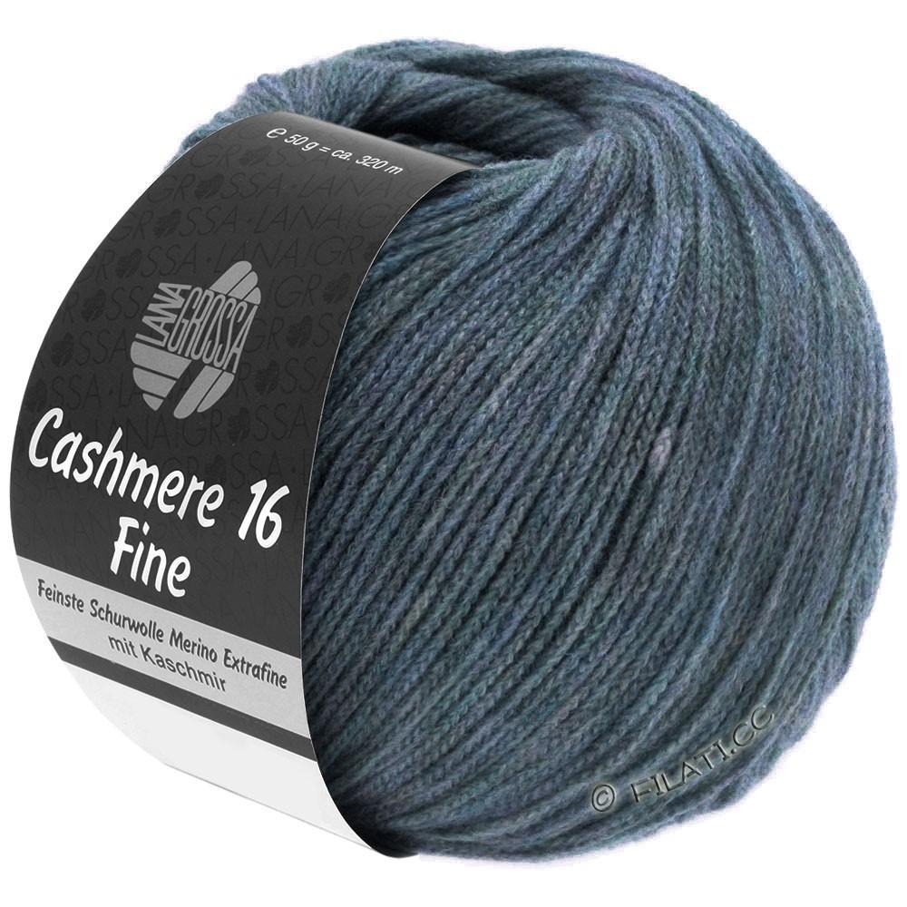 Lana Grossa CASHMERE 16 FINE Uni/Degradé | 005-grigio blu