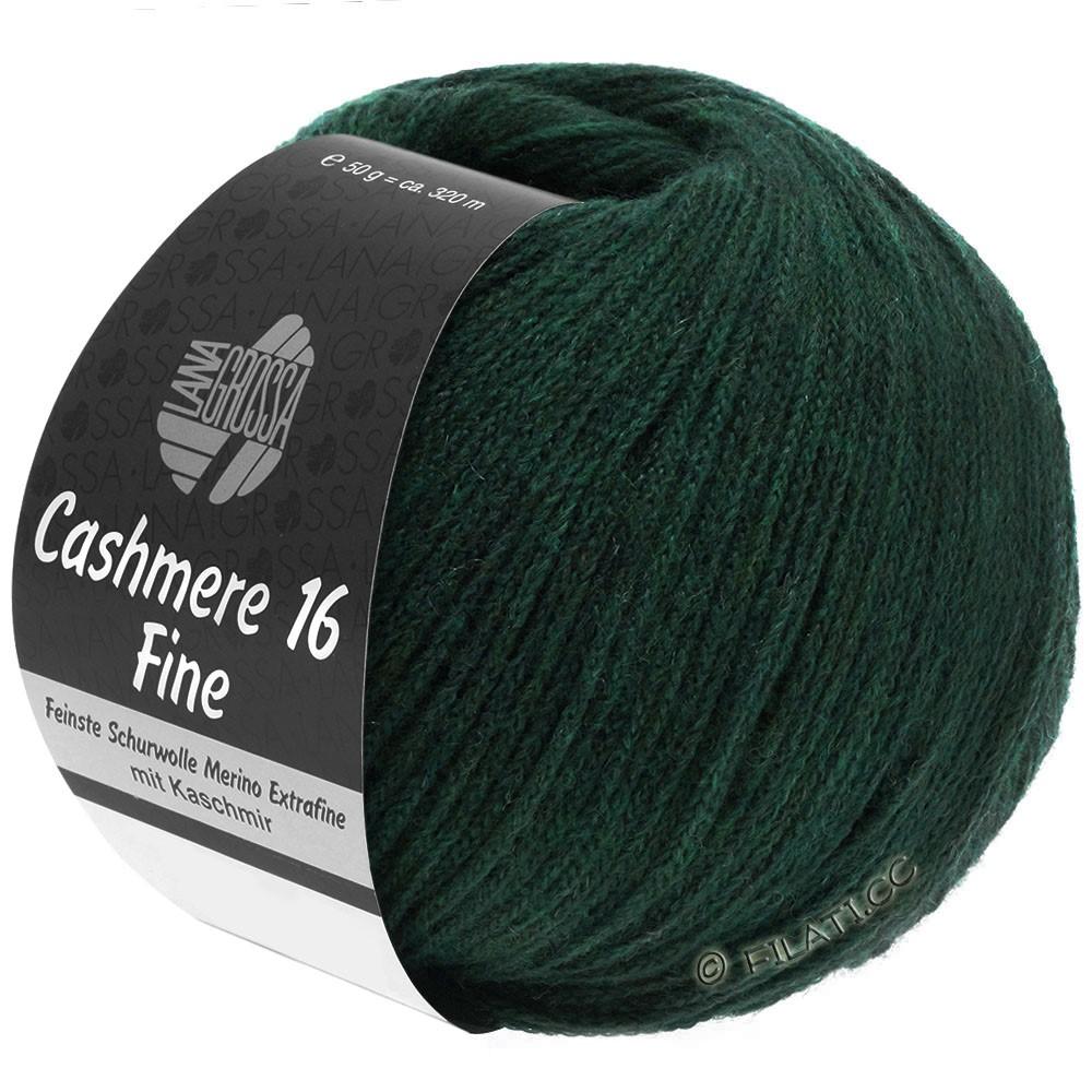 Lana Grossa CASHMERE 16 FINE Uni/Degradé | 014-verde nero