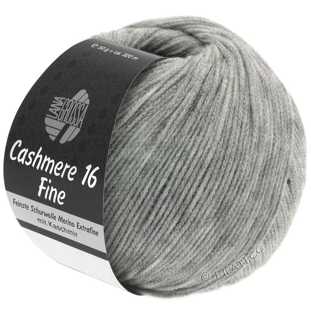 Lana Grossa CASHMERE 16 FINE Uni/Degradé | 015-grigio chiaro
