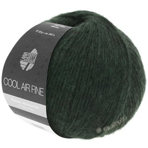 Lana Grossa COOL AIR Fine | 02-verde nero