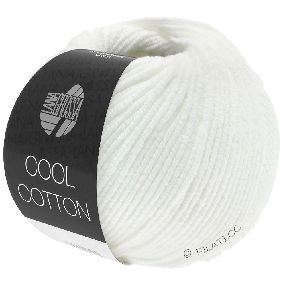 Lana Grossa COOL COTTON | 01-bianco