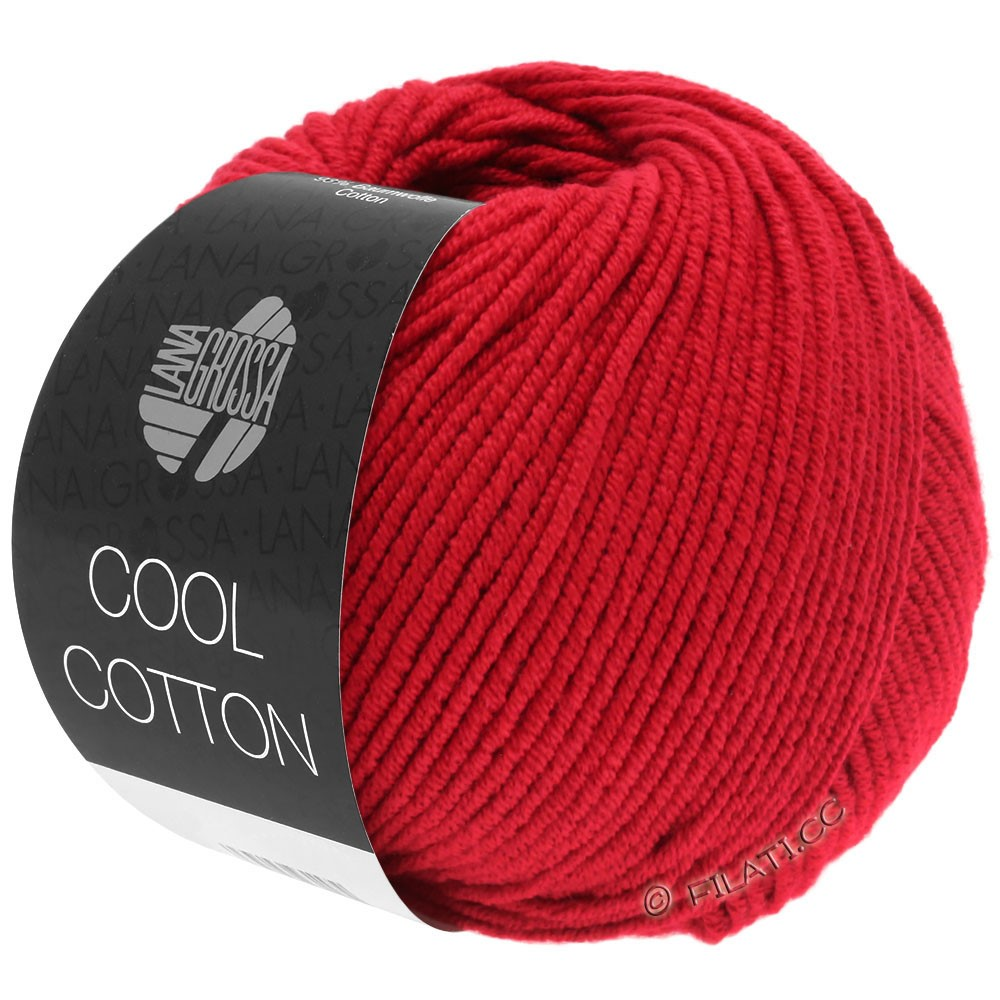 Lana Grossa COOL COTTON | 07-rosso