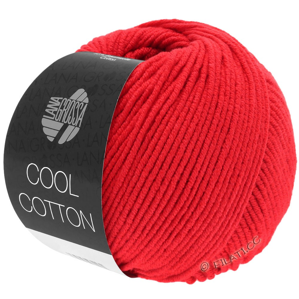 Lana Grossa COOL COTTON | 08-rossosegnale