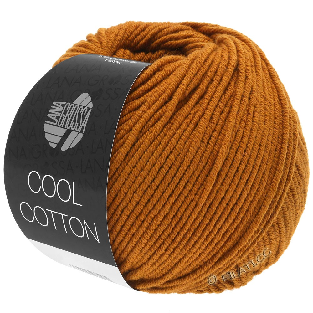 Lana Grossa COOL COTTON | 11-marrone ocra