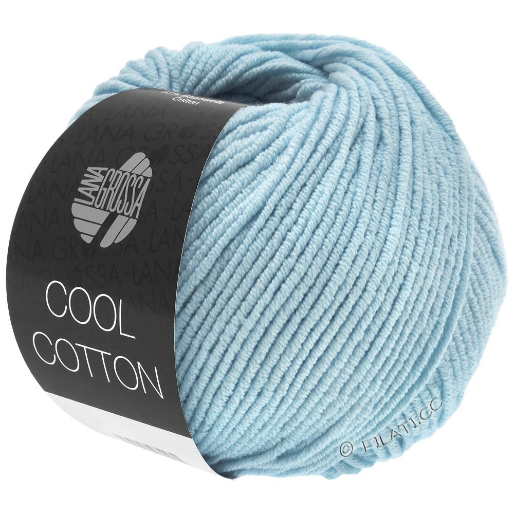 Lana Grossa COOL COTTON | 18-blu chiaro