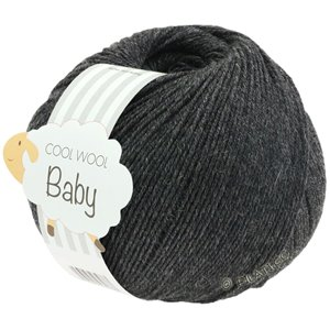 Lana Grossa COOL WOOL Baby 50g | 205-antracite
