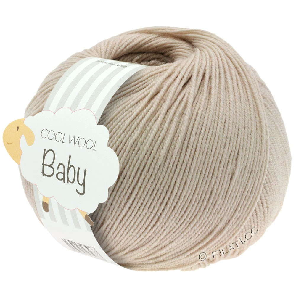 Lana Grossa COOL WOOL Baby | 212-grège