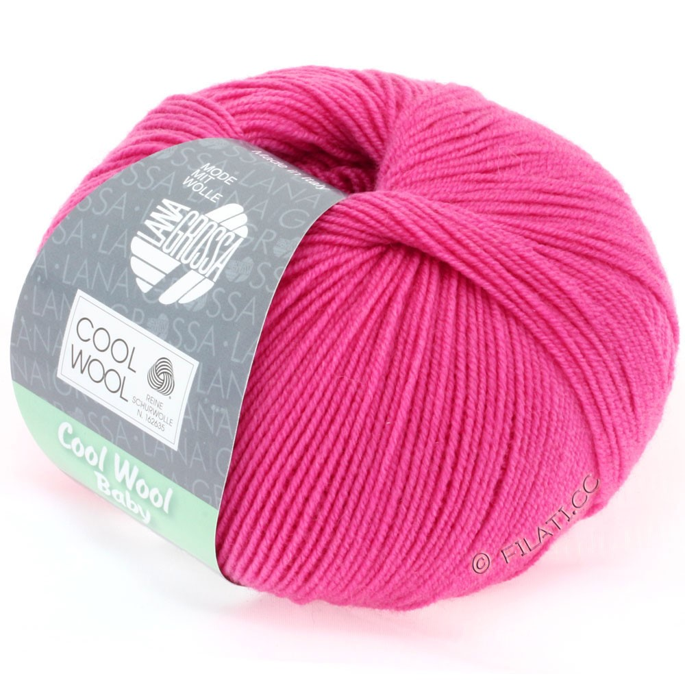 Lana Grossa COOL WOOL Baby | 225-rosa vivo