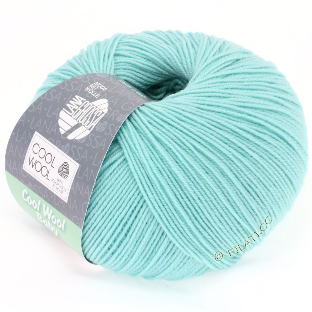 Lana Grossa COOL WOOL Baby | 230-turchese chiaro