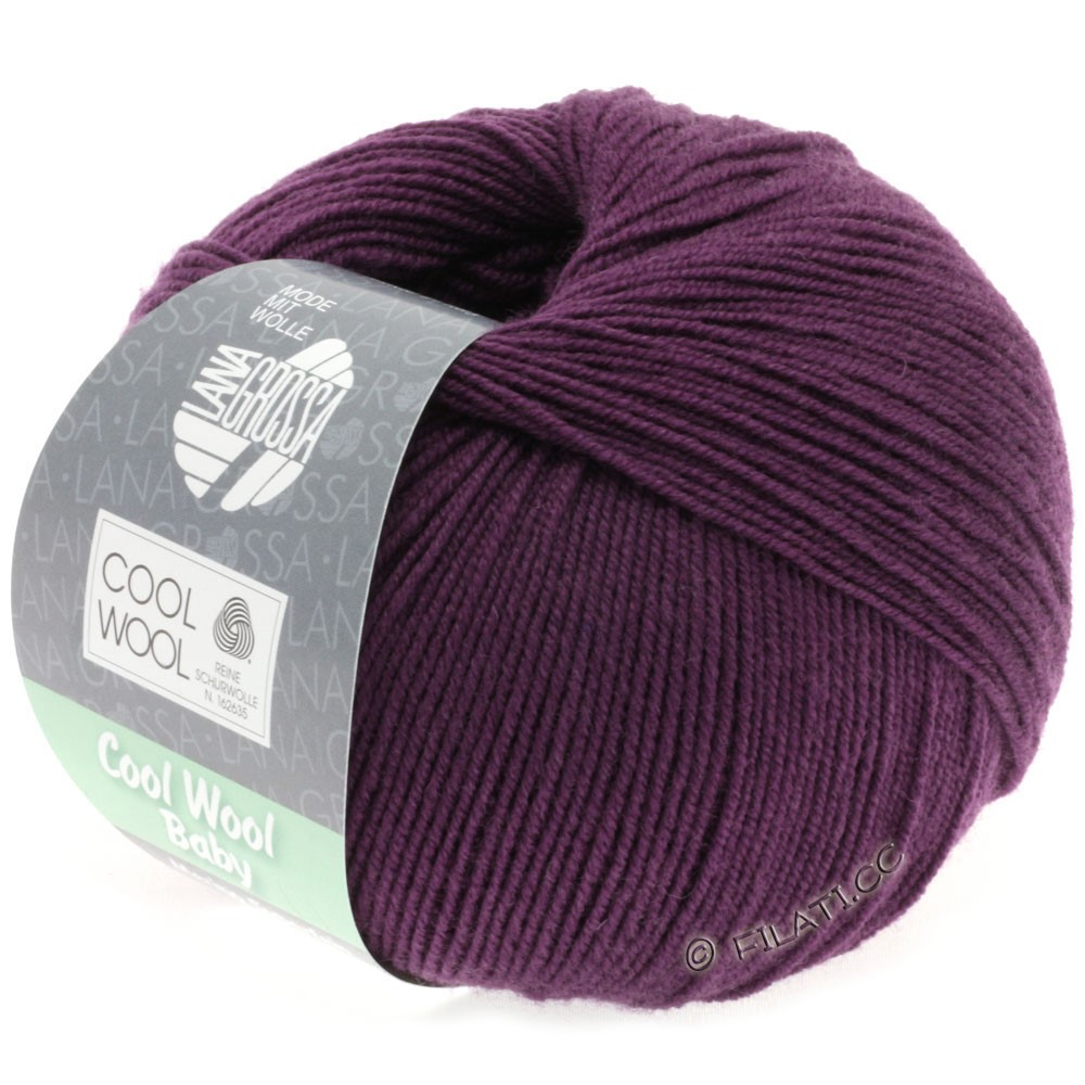 Lana Grossa COOL WOOL Baby | 248-viola scuro