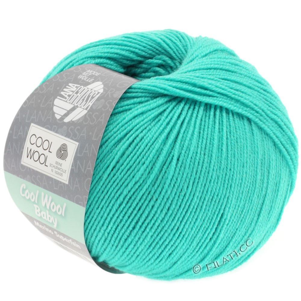 Lana Grossa COOL WOOL Baby | 251-turchese