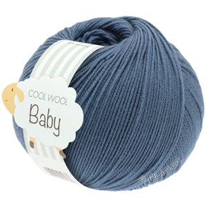 Lana Grossa COOL WOOL Baby 50g | 263-blu colomba