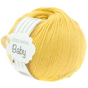 Lana Grossa COOL WOOL Baby 50g | 273-giallo