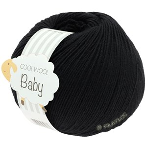 Lana Grossa COOL WOOL Baby 50g | 278-nero